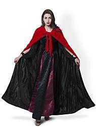 Недорогие -ведьма Пальто Косплэй Kостюмы Накидка Метлы для ведьм Маскарад Костюм для вечеринки Товары для Хэллоуина Муж. Жен. Рождество Хэллоуин