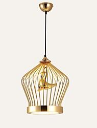 billige -Lanterne Vedhæng Lys Baggrundsbelysning Galvaniseret Metal Pære Inkluderet 110-120V / 220-240V LED lyskilde inkluderet / Integreret LED