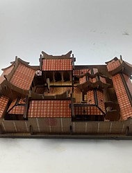cheap -3D Puzzles Jigsaw Puzzle Toys Chinese Architecture House 3D Not Specified Pieces