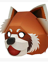 cheap -Halloween Masks Animal Mask Toys Animals DIY Square Bear 3D Hard Card Paper Horror Pieces Not Specified Gift