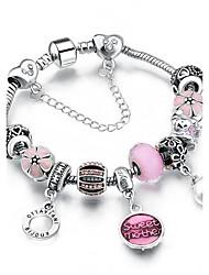 Women's Strand Bracelet Rhinestone Handmade Movie Jewelry Costume Jewelry Alloy Metal Oval Round Jewelry For Dailywear Birthday Party