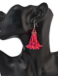Women's Drop Earrings CrystalBasic Unique Design Dangling Style Tassel Geometric Friendship Cute Style Euramerican Turkish Gothic Movie