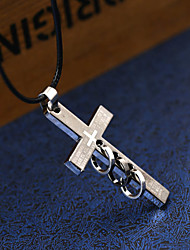 cheap -Men's Cross Geometric Shape Personalized Geometric Unique Design Dangling Style Classic Statement Jewelry Euramerican Hip-Hop Fashion