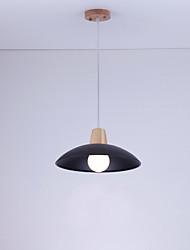 preiswerte -3w Pendelleuchte traditionelle / klassische Malerei Merkmal für Mini-Stil Holz / bambooliving Zimmer / Schlafzimmer / Esszimmer / Studie