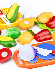 cheap -Pretend Play Toy Foods Toy Cars Toys Vegetables Friut Kid's Pieces