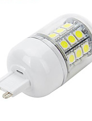 5W G9 LED Doppel-Pin Leuchten 30 Leds SMD 5050 Kühles Weiß 450-550lm 6500K AC 220-240V