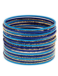 cheap -Women's Bangles Wrap Bracelet Fashion Punk Rock Metal Alloy Alloy Circle Jewelry ForParty/ Evening Outdoor clothing Birthday Party