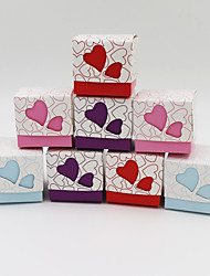 50pcs Love Heart Gift Box Candy Boxes Baby Shower Party Supplies