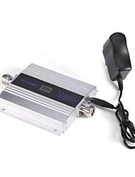 Недорогие -Mini 3g w-cdma Усилитель сигнала мобильного телефона umts 2100mhz усилитель ретранслятора сигнала с блоком питания lcd display / silver