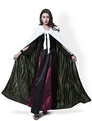 economico -Strega Cappotto Costumi Cosplay Mantello Scopa da strega Accessori Halloween Vestito da Serata Elegante Stile Carnevale di Venezia Non