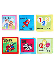 cheap -Educational Flash Cards Reading Toys Square Fabric 3-6 years old