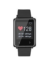 billige -Smart Armbånd YYTK002 for iOS / Android / iPhone Pulsmåler / Brændte kalorier / Lang Standby / Touch-skærm / Vandafvisende Skridtæller / Aktivitetstracker / Sleeptracker / Stillesiddende Reminder
