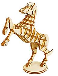 abordables -Puzzles 3D Puzzle Modelo de madera Juguetes Animal 3D Manualidades Madera Madera Natural No Especificado Piezas