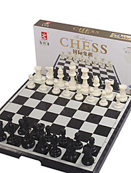 cheap -Board Game Chess Game Chess Toys Foldable Large Size Square Plastics Pieces Not Specified Christmas Gift