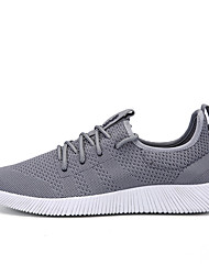 Men's Sneakers Comfort Light Soles Summer Fall Knit Wedding Casual Party & Evening Outdoor Office & Career Black Gray Blue Flat