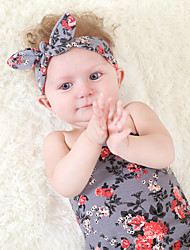 Baby Blanket 2 Pcs Headband Blanket Floral Cute Baby Product