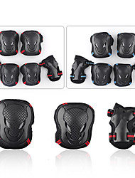 Adult Protective Gear Knee Pads + Elbow Pads + Wrist Pads Skate Helmet for Cycling Ice Skating Skateboarding Inline Skates Shock Proof