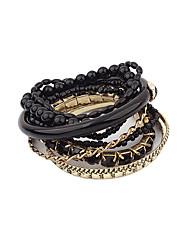 Per donna Dell'involucro del braccialetto Gioielli Natura Di tendenza stile della Boemia Elasticizzato Fai da te Gioielli di LussoCon