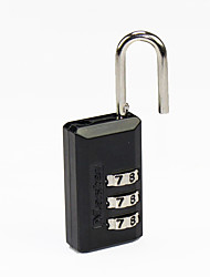 Masterlock 646 Zinc Alloy Padlock Padlock 3 Digit Password Laptop Case Padlock Backpack Burglary Small Lock Bag Lock Dail Lock Password Lock