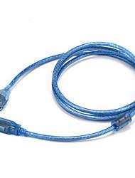 levne -USB 2.0 Adaptér, USB 2.0 to USB 2.0 Adaptér Samec-samice 1.5M (5 stop)