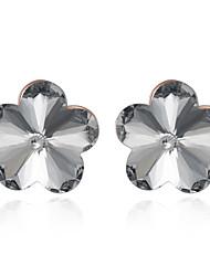 economico -Per donna Orecchini a bottone Cristallo Zirconi Classico Originale Pendente Cuore Natura Geometrico Amicizia Di tendenza Vintage stile