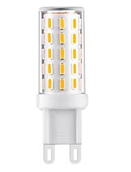 Недорогие -3 W Двухштырьковые LED лампы 360-390 lm T 54 Светодиодные бусины SMD 4014 Декоративная Тёплый белый Естественный белый Белый 110-240 V / 1 шт.