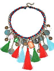 Недорогие -Жен. Классический Ожерелья с подвесками Ожерелья с подвесками , Новогодние подарки Рождество Свадьба Для вечеринок Особые случаи