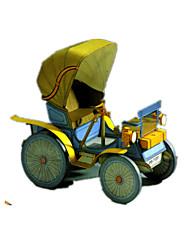 Недорогие -Игрушечные машинки 3D пазлы Пазлы Оригами Автомобиль 3D Своими руками Предметы интерьера Классика Все возрастные группы
