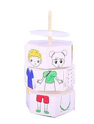 Недорогие -Бумажная модель Игрушки Экологичные Своими руками Бумага Куски Детские Подарок