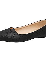 Недорогие -Жен. Обувь Полиуретан Весна / Лето Удобная обувь / Балетки / Светодиодные подошвы На плокой подошве На плоской подошве Заостренный носок