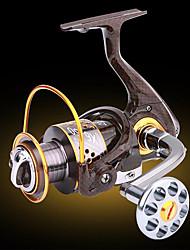 preiswerte -Angelrolle Bearing Spinnrollen 5.2:1 13 Kugellager Austauschbar Seefischerei Eisfischen Fischen im Süßwasser Spinnfischen Angeln