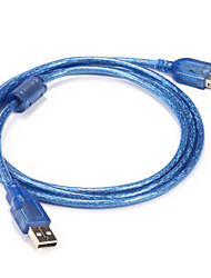 baratos -USB 2.0 Cabo adaptador, USB 2.0 to USB 2.0 Cabo adaptador Macho-Macho 1,5M (5 pés)