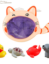 cheap -Bath Toy Fishing Toys Water Toy Toys Circular Duck Fish Plastics Silicone 1 Pieces Kid's Gift