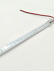 ZDM 50CM Waterproof IP65 15W 72X 2835 Rigid LED Light Bars Transparent PC tube AC220V