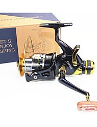 Mulinello cuscinetto Mulinelli per spinning 5.2:1 10 Cuscinetti a sfera Intercambiabile Pesca di mare Pesca di acqua dolce Pesca con esca