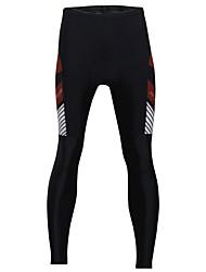 ILPALADINO Cuissard Long de Cyclisme Homme Vélo Bas Séchage rapide Pare-vent Design Anatomique Vestimentaire La peau 3 densités Diminue