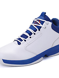 cheap -Men's PU(Polyurethane) Winter Comfort Athletic Shoes Basketball Shoes White / Black / Red