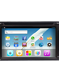abordables -Rungrace hot sale android6.0 6.2 radio de voiture 2din avec dvd / wifi / gps / radio / bluetooth rl-257agn02