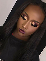 Hot Selling Lace Front Human Hair Wigs Silky Straight with Baby Hair 100% Unprocessed Brazilian Virgin Hair Glueless Lace Wig for Black Woman