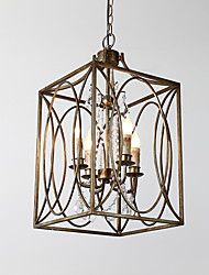 cheap -Chandelier Uplight - Mini Style, Rustic / Lodge Traditional / Classic Retro, 110-120V 220-240V Bulb Not Included