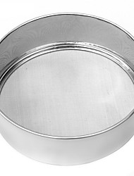 cheap -About 15CM Stainless Steel Mesh Flour Sifting Sifter Sieve Strainer Gift Baking Kitchen Gift Baking Tool