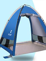 abordables -3-4 personnes Tapis de camping Tente de Plage Unique Tente de camping Tente pliable Résistant aux ultraviolets pour Camping / Randonnée