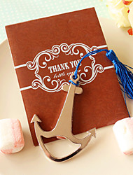 cheap -Anchor bookmark and Bottle Opener in Thank You Gift Bag\ Wedding Favors