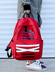 cheap -Unisex Bags Oxford Cloth Backpack for Casual All Seasons Blue Black Red Gray