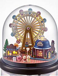 cheap -CUTE ROOM Balls Model Building Kit Toys DIY House Plastics Glass Classic Pieces Unisex Birthday Gift