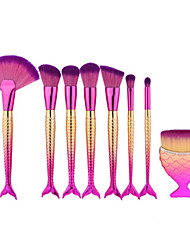 cheap -8pcs Professional Makeup Brushes Makeup Brush Set Artificial Fibre Brush / Synthetic Hair 1 * Fan Brush / 1 * Eyeshadow Brush / 1 *