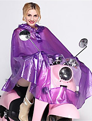 Fashion PVC Korean Style Electric Raincoat Increase Motorcycle Raincoat Single Tram Raincoat