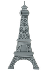 Cartoon Plastic Paris Tower 128GB USB2.0 High-Speed Flash Drive U Disk Memory Stick