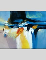 Abstract Style Canvas Material Oil Paintings with Stretched Frame Ready To Hang Size 60*90 CM