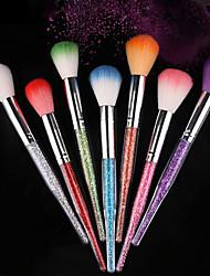 cheap -Pinpai 7 Color Brand New Nail Art Design High Quality Fashionble Nail Art Brush Rhinestone Nail Dust Brush